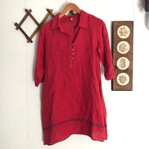 Primitive Linen Dress